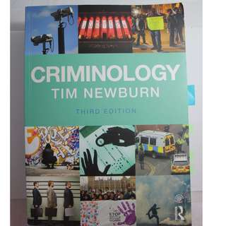 Criminology by Tim Newburn ATS1281