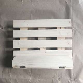 White Wooden Book Stand
