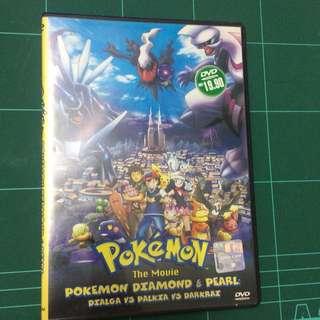 Pokemon the Movie Dialga vs Palkia vs Darkrai DVD