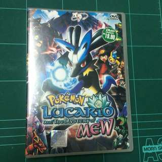 Pokemon Lucario and the Mystery of Mew DVD