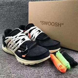 Off white × air presto (原廠貨尾)