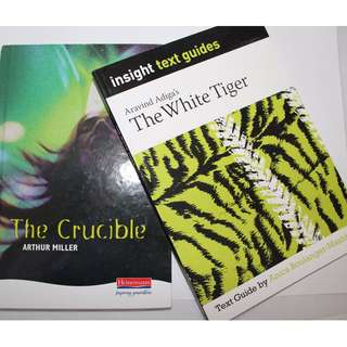 The Crucible, The White Tiger text guide