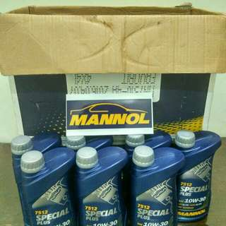 Mannol lubricant made in germany