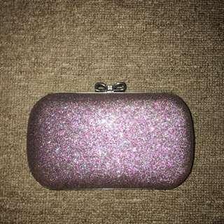 Claire's clutch bag
