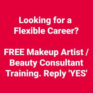 Makeup Artist Flexible Hours