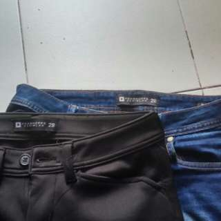 PENSHOPPE Biker AND Jogger Pants Size 28 DenimLab