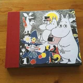Moomin blank notebook