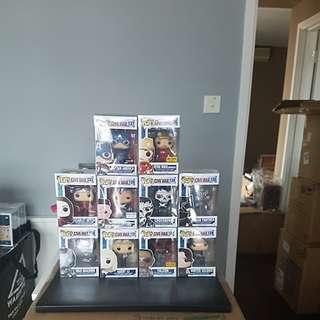 Funko Pop Marvel Captain America Civil War set of 10