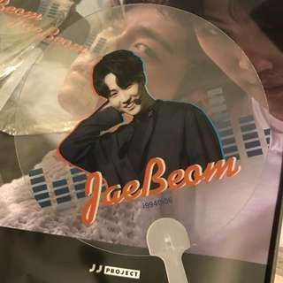 Got7 JB Jaebeom i994 transparent fan