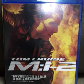 Mission impossible 2 Blu Ray Disc
