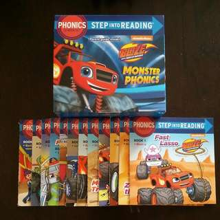 Blaze And The Monster Machines (Step Into Reading Phonics)