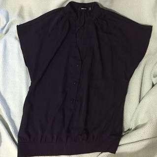 Unarosa black blouse