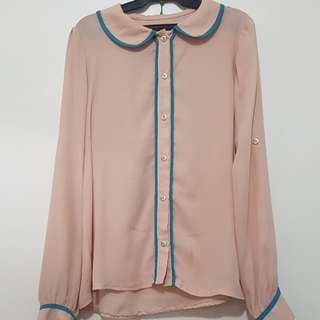 Light Pink long-sleeved top
