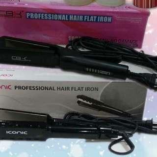 Warehouse sale Hair flat iron (titanium)