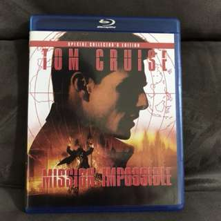 Blu Ray Movie - Mission impossible (1996)