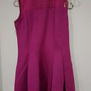 Selling preloved magenta work dress