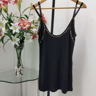 New MNG studded loose tank/outer piece