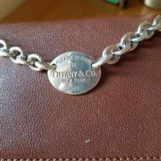 Tiffany 925純銀 手鍊