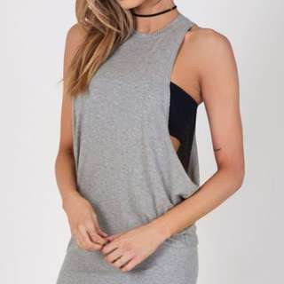H&M Basic Muscle Tank Dress