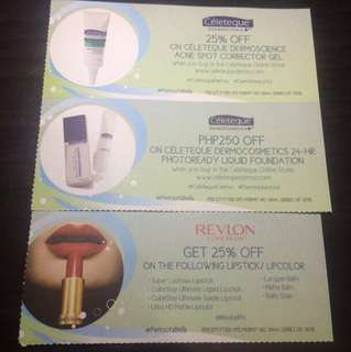 Beauty Vouchers 1
