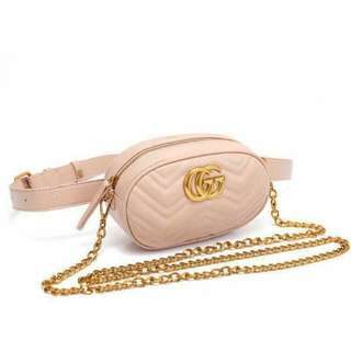 Gucci GG Marmont Matelasse Pink Color