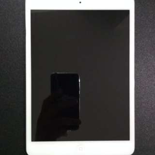 iPad Mini WiFi + Cellular 16GB (White)