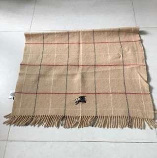 Burberry 毛毯