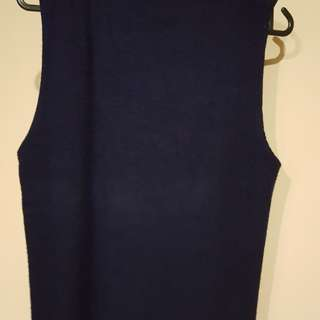 Selling preloved high neck ribbed top from zalora