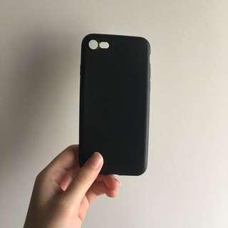 iPhone 7 full black rubber case