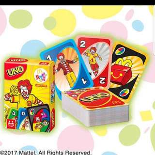 McDonald UNO cards Japan