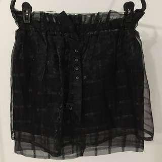 Black skirt from Korea (Brand new but selling pre-loved dress)