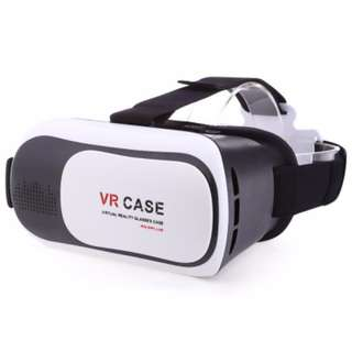 BNIB White VR CASE 3D Glasses