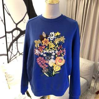 Mary Katranzou Embellished Sweater