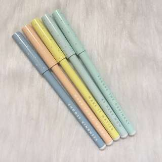 BNIB Kikki K Black Ball Point Pens