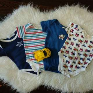 3-6 mths Rompers