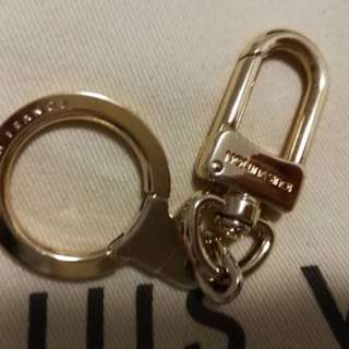 Louis Vuitton Gold Keyring