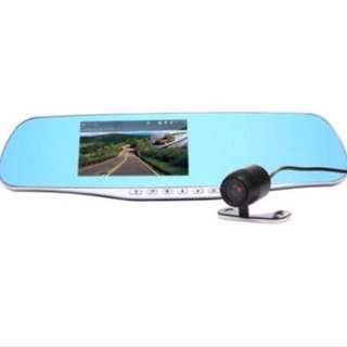 Promotion - LCD HD Car DVR Car Camera Dash Cam Video Recorder Rearview Mirror Vehicle DVR