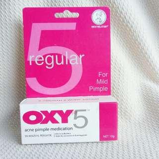 Oxy 5 % obat jerawat