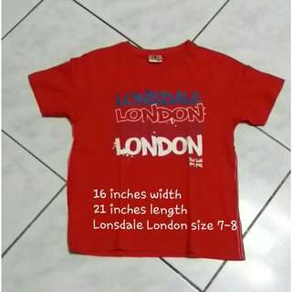 Lonsdale london shirt