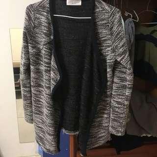 🚚 混色針織薄外套 全新 涼涼的天氣很適合穿搭🙂