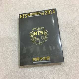 (WTS) BTS OFFICIAL MEMORIES OF 2014