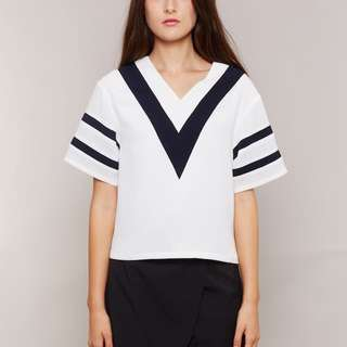 Clyde Top White