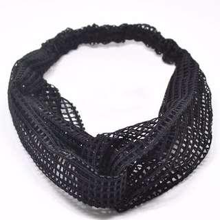 韓國黑網髮帶