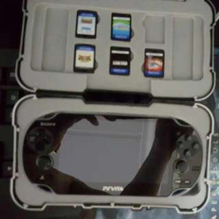 PS Vita plus game and the casing