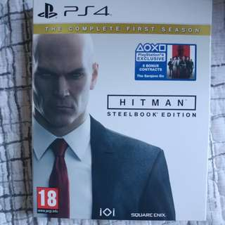 PS4 Hitman 95%new