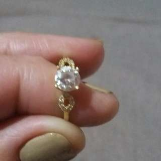 Engagement ring russian diamond