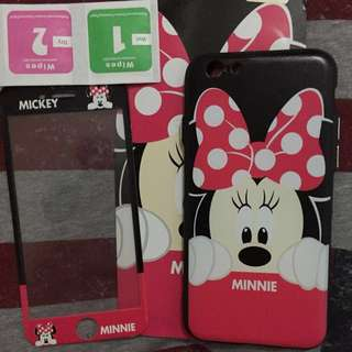 Softcase 360 Full Minnie iP 6/6S
