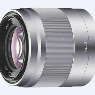 Sony E Mount 50mm lens
