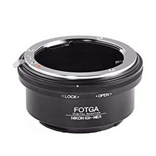 Nikon to Sony NEX lens adapter converter