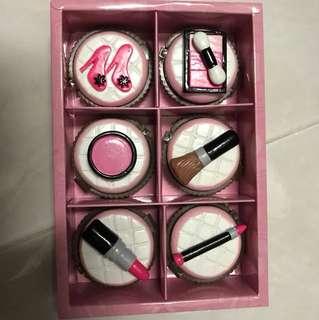 Make Up Cupcake Lip Balm Set